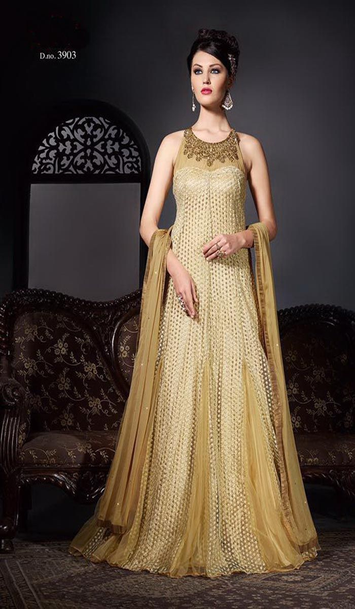 Evening Gowns For Wedding Reception In Indian
